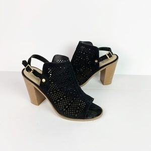 Dolce Vita | perforated sling back ankle booties 9